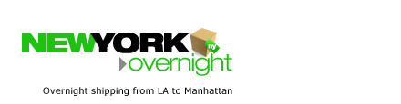 New York Overnight: Overnight shipping from LA to Manhattan